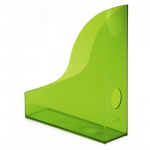 Накопитель вертикальный для бумаг Durable Rack Basic А4, 306мм, зеленый