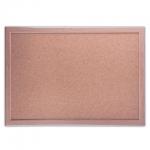 Доска пробковая Brauberg 231989 30х45см, коричневая, деревянная рама