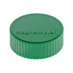 Магниты Magnetoplan Magnum d=34х13мм, 10шт/уп, зеленые