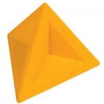 Ластик Brunnen 4.5х4.5х4см, треугольный, 29974, желтый