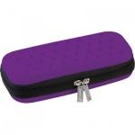 Пенал для девочек Brunnen Color Code, каркасный, фиолетовый