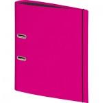 Папка-регистратор А4 Brunnen, 80 мм, розовый
