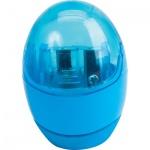 Точилка Brunnen 29879 2 отверстия, с контейнером, круглая, голубой