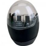 Точилка Brunnen 29879 2 отверстия, с контейнером, круглая, черный