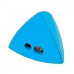 Точилка Brunnen 29874 2 отверстия, с контейнером, треугольная, голубой