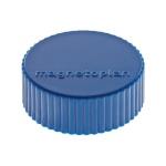 Магниты Magnetoplan Magnum d=34х13мм, 10шт/уп, синие