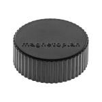 Магниты Magnetoplan Magnum d=34х13мм, 10шт/уп, черные