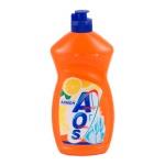 Средство для мытья посуды Aos 0.5л, лимон, бальзам