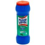 Универсальное чистящее средство Comet Двойной Эффект 475г, сосна, порошок