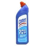Универсальное чистящее средство Comet Двойной эффект, гель, 1л океанская свежесть