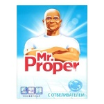 Универсальное чистящее средство Mr Proper 400г, с отбеливателем, порошок