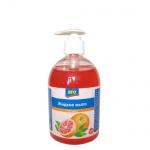 Жидкое мыло наливное Aro 500мл, грейпфрут, с дозатором