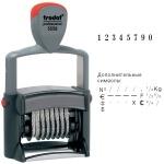 Нумератор с автоматической оснасткой Trodat Professional 8 разрядов, 5мм, 5558