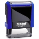 Оснастка для прямоугольной печати Trodat Printy 38х14мм, синяя, 4911