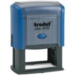 Оснастка для прямоугольной печати Trodat Printy 60х33мм, синяя, 4928