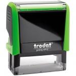Оснастка для прямоугольной печати Trodat Printy 47х18мм, зеленое яблоко, 4912