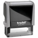 Оснастка для прямоугольной печати Trodat Printy 47х18мм, серая, 4912