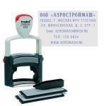 Штамп прямоугольный самонаборный Trodat Professional Typomatic 6 строк, 49х28мм, 5253/DB