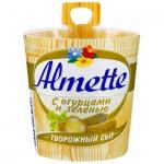 Сыр творожный Almette 60%, 150г, с огурцами и зеленью