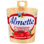 Сыр творожный Almette 60%, 150г, с томатами