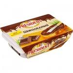 Сыр плавленый President, шоколадный, 200г
