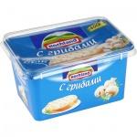 Сыр плавленый Hochland с грибами, 55%, 400г