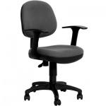 Кресло офисное Бюрократ CH-356AXSN ткань, серая, крестовина пластик, серое