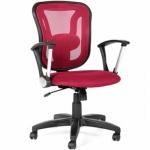 Кресло офисное Chairman 452 ткань, TW, крестовина пластик, бордовое