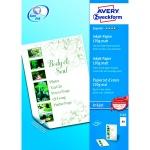 Бумага для принтера Avery Zweckform А4, 100 листов, 210x297мм, 170 г/м2, белая матовая, 2583