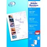 Фотобумага для струйных принтеров Avery Zweckform А4, 100 листов, 210x297мм, 150г/м2, белая матовая, 2579-100