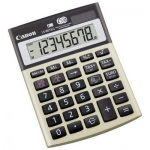 Калькулятор настольный Canon LS-80TEG серый, 8 разрядов