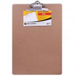 Клипборд без крышки Brauberg Eco коричневая, А3, 232226