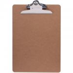 Клипборд без крышки Brauberg Eco коричневая, А4, 232228