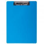 Клипборд без крышки Brauberg Energy синяя, А4, 232230