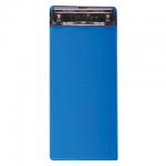 Клипборды без крышки Brauberg Espresso синяя, 10х22.8см, 232234