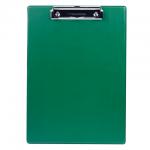 Клипборды без крышки Brauberg Number One зеленая, А4, 232222