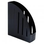 Накопитель вертикальный для бумаг Brauberg Energy А4, 85мм, черный, 231549