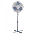 Вентилятор напольный Sonnen Stand Fan бело-синий, 45 Вт, d=40см