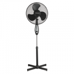 Вентилятор напольный Sonnen Time Fan черный, 45Вт, d=40см