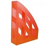 Накопитель вертикальный для бумаг Helit Economy А4, 75мм, оранжевый