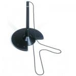 Ручка шариковая настольная Helit 63590 черная, 0.7мм, черный корпус