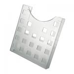 Лоток настольный Helit А4, прозрачный, 6102502