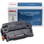 Тонер-картридж Mega CE255A, черный