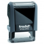 Оснастка для прямоугольной печати Trodat Printy 26х9мм, серая, 4910