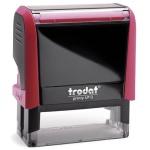 Оснастка для прямоугольной печати Trodat Printy 58х22мм, красная, 4913