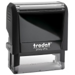 Оснастка для прямоугольной печати Trodat Printy 64х26мм, черная, 4914