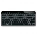 Клавиатура беспроводная Bluetooth Logitech Illuminated K810, черная