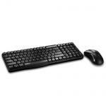 Набор клавиатура и мышь беспроводной Rapoo X1800, USB, черный