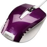 Мышь проводная оптическая USB Hama Cino пурпурная, 800dpi, H-53866