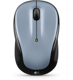 Мышь беспроводная оптическая USB Logitech Wireless Mouse, светло серебристый